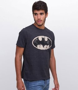 Camiseta Masculina com Estampa Batman