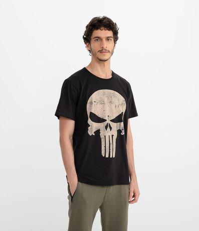 Camiseta com Estampa Justiceiro - Renner ec7cfcb8b9e9b