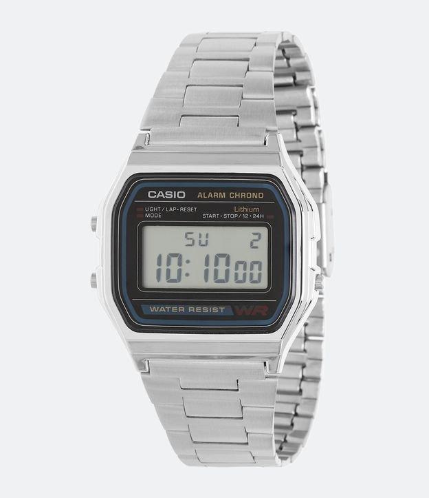 04948f9237e Relógio Unissex Casio Vintage A158WA 1DF Digital - Renner
