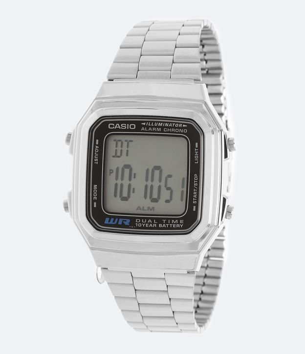 c810c029860 Relógio Unissex Casio Vintage LA680WA 1BDF Digital - Renner
