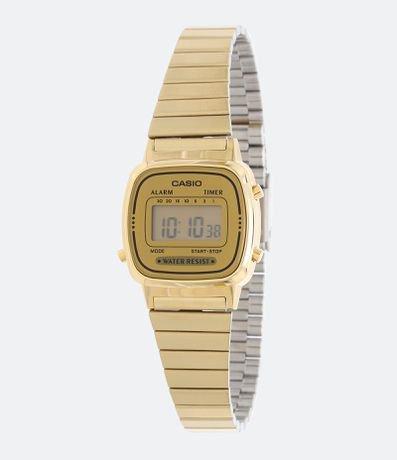 Relógio Feminino Casio Vintage LA670WGA 9DF Digital