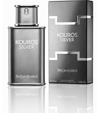 62bcd69ae8 Perfume Yves Saint Laurent Kouros Silver Masculino Eau de Toilette