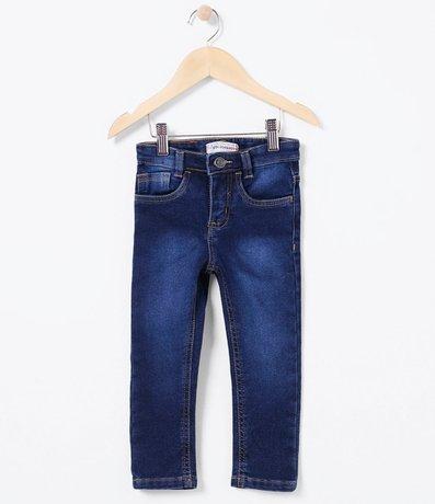 Calça Infantil em Jeans Comfy - Tam 1 a 4  anos