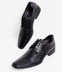 24d45a25af Sapato Masculino em Couro