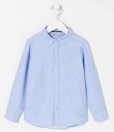Camisa Infantil Básica - Tam 4 a 14