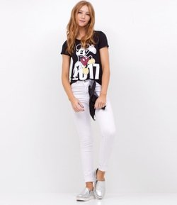 Blusa com Estampa Mickey Mouse