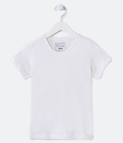 Camiseta Infantil Básica - Tam 6 a 14