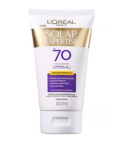 Protetor Corporal Solar Expertise Protect 4 FPS 70 -  Loréal