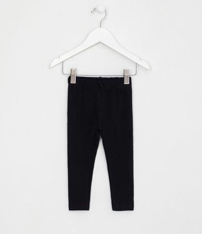 Calça Legging Infantil Básica - Tam 1 a 4