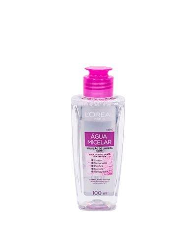 Água Micelar Loréal Solução de Limpeza Facial 5 em 1