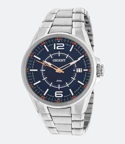 18cba61782b Relógio Masculino Orient MBSS1314 DOSX Analógico 5ATM