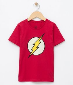 Remera Fantasia con Estampa The Flash Tam 2 a 14 años