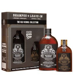 Kit qqod Barber Shop Old School Whiskey Shampoo