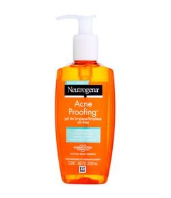 Gel de Limpeza Neutrogena Acne Proofing