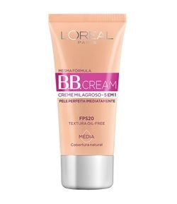 BB Cream 5 em 1 FPS20 L'Oréal Paris