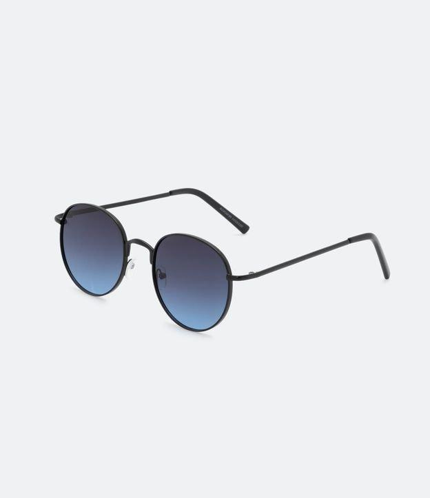Oculos de Sol Masculino Redondo | Accessories | Preto | U