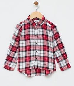 c428241db1 Camisa Infantil Xadrez - Tam 1 a 4
