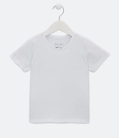 Camiseta Infantil Básica - Tam 1 a 4