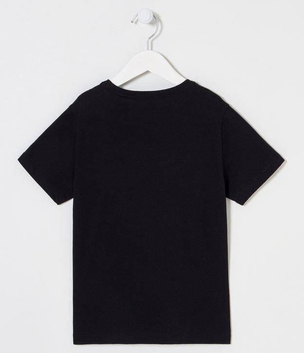 Camiseta Infantil Básica - Tam 6 a 14 | Fuzarka (5 a 14 anos) | Preto | 11-12