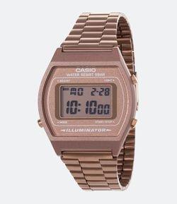 15fa037a503 Relógio Feminino Casio Vintage B640WC-5ADF-BR Digital