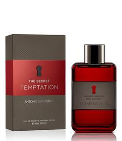 Perfume Antonio Banderas The Secret Temptation Eau de Toilette Masculino