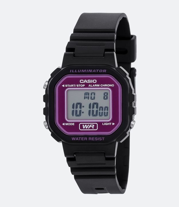 e141f2cd14d Relógio Unissex Casio LA 20WH 4ADF Digital - Renner