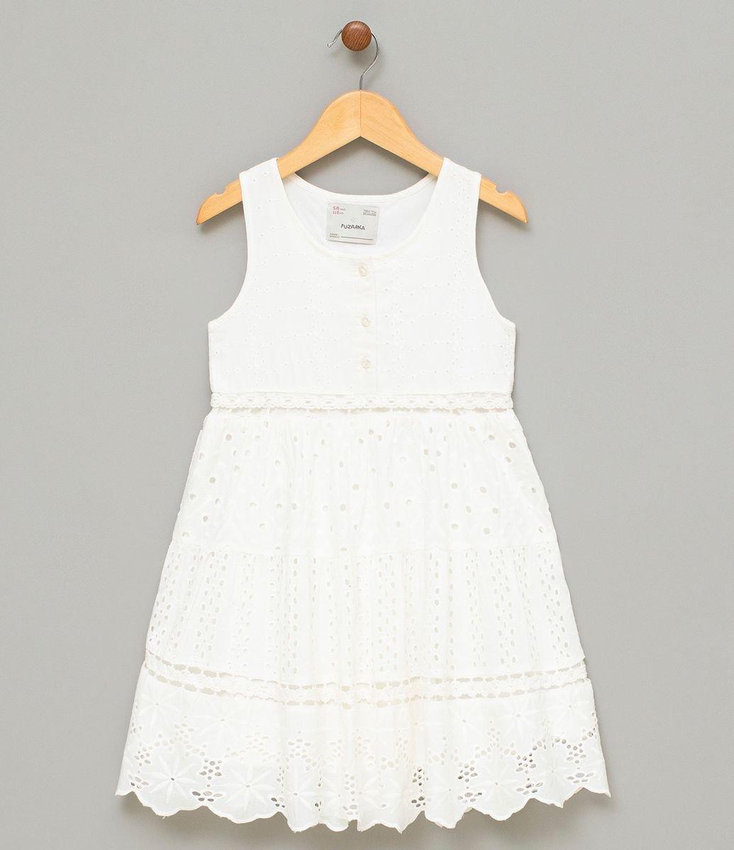 78fee2700f94 Vestido Infantil Estampado sem Mangas - Tam 5 a 14 | Menor preço com ...