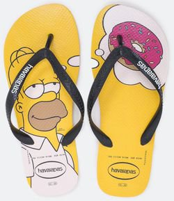 Chinelo Masculino Simpsons Havaianas