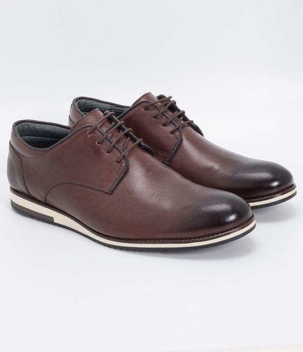 Sapato Masculino Casual com Queima Solado Viko | Viko | Marrom | 40