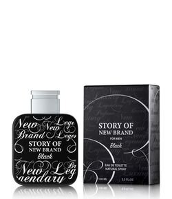 Perfume Story of New Brand For Men Black Eau de Toilette