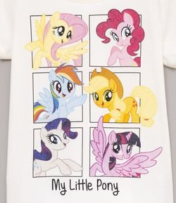 Blusa Infantil com Estampa My Little Pony - Tam 4 a 12