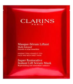 Máscara Facial Anti-Idade Clarins Super Restorative Instant Lift Serum Mask