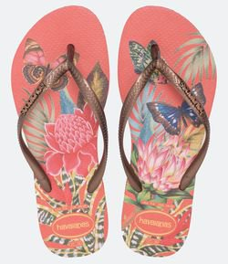 Chinelo Slim Tropical Havaianas