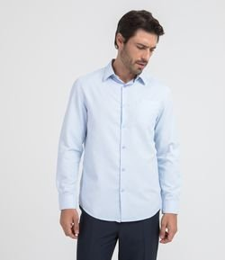 Camisa Manga Larga Confort Fit