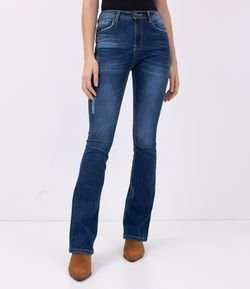Calça Jeans Boot Cut Push Up