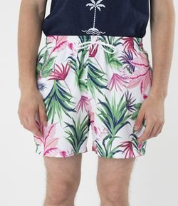 Short Estampada Floral