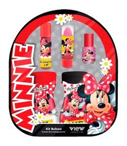 Kit Mochila Minnie Disney