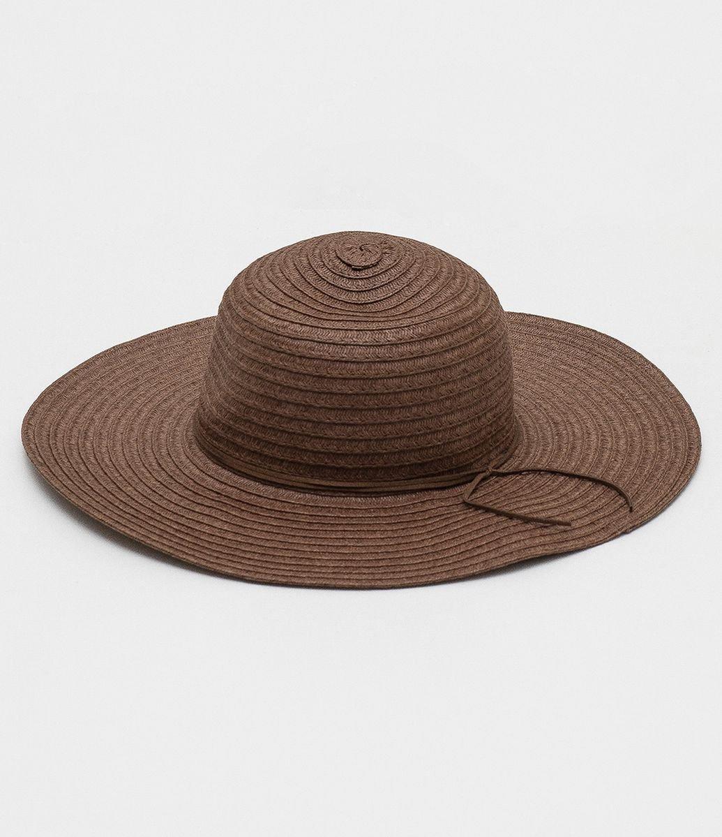 8887281329212 Chapéu de Palha com Tira em Suede - Renner