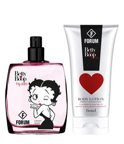 Kit Forum Betty Boop De Colônia + Hidratante Corporal