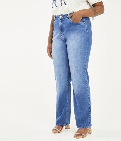 Calça Jeans Reta Básica Curve & Plus Size