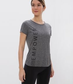 Camiseta Esportiva Estampa Empower