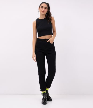 Regata Cropped com Listra Lateral