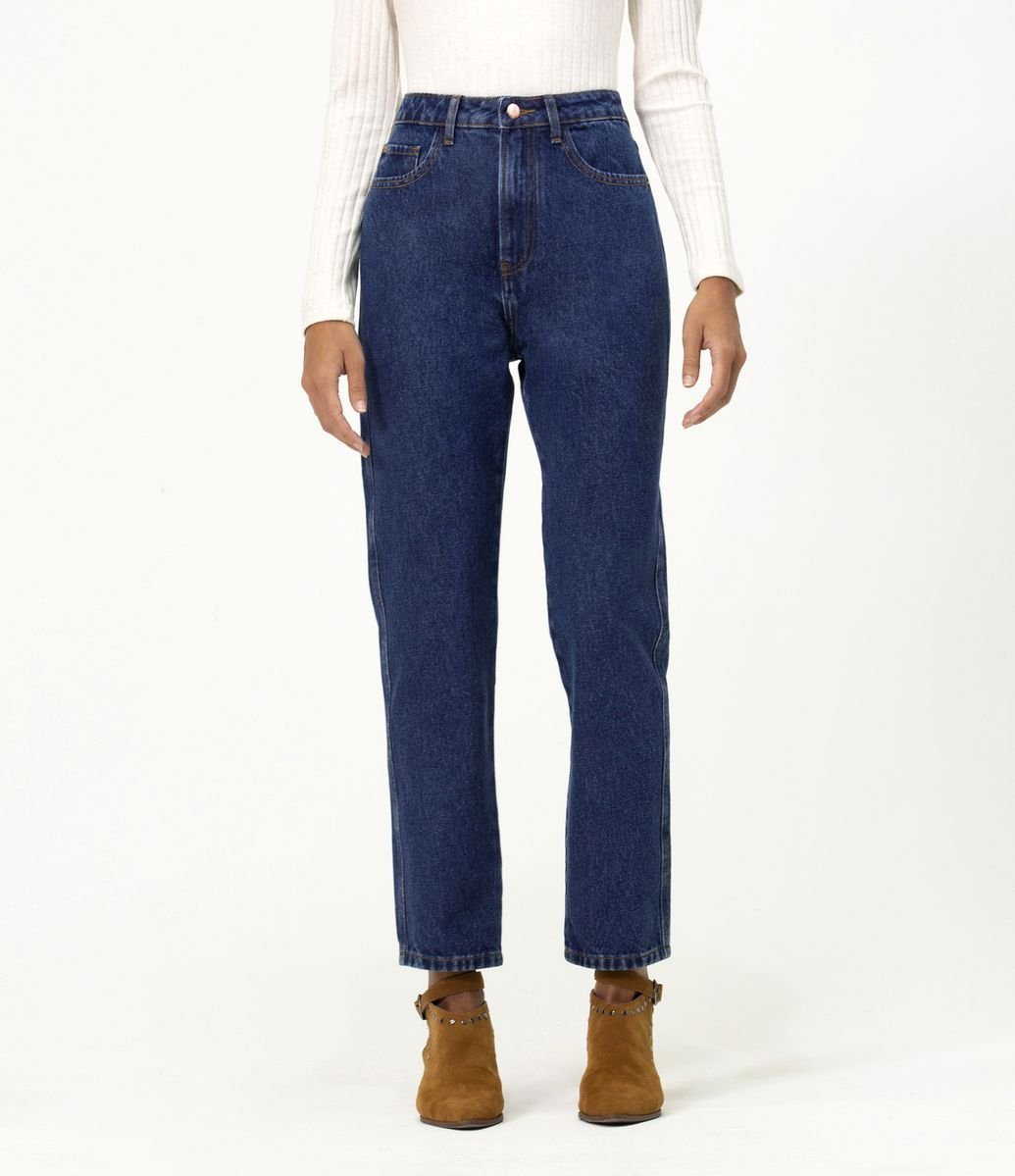 0677de479fed Calca Jeans Mom Lisa - Renner