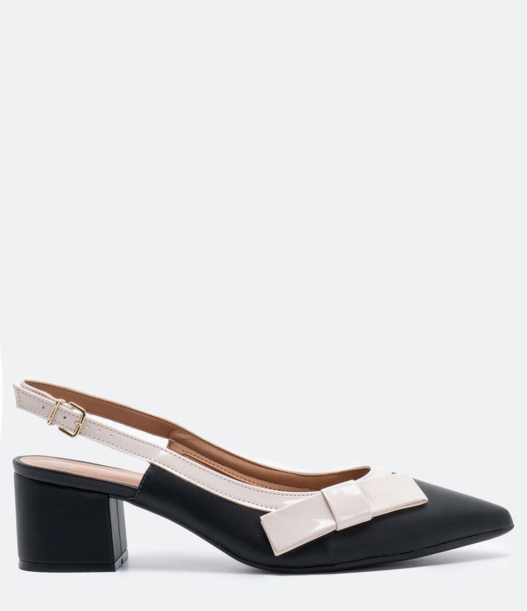 579f7f527c HOME · Calçados · Sapatos  Sapato Feminino Chanel Bico Fino Vizzano. Brinde.  Detalhes