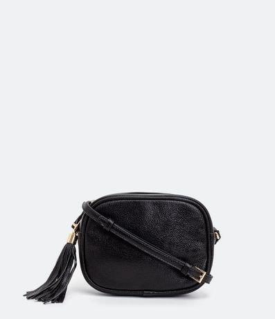 Bolsa Transversal Camera Bag Com Tassel