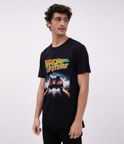 Camiseta Manga Curta Back To The Future