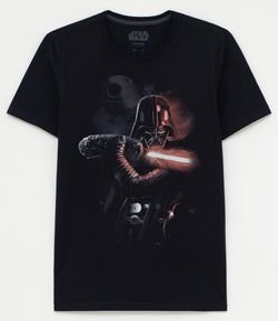 Camiseta com Estampa Darth Vader
