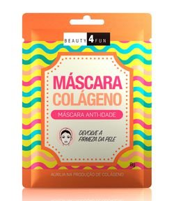 Máscara Facial Anti-idade Colágeno Beauty 4 Fun
