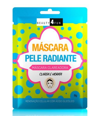 Máscara Facial Clareadora Pele Radiante Beauty 4 Fun