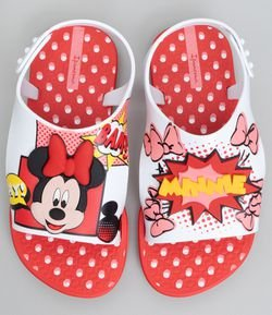Chinelo Infantil Minnie Ipanema - Tam 19 ao 24